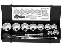 1'''' 13dílná sada nářadí 41-80mm + ráčna 24 zubů