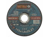 Kotouč řezný 115x1,6x22 na ocel a nerez 50 ks v bal.