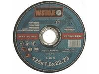 Kotouč řezný 125x1,6x22 na ocel a nerez 50 ks v bal.
