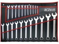 22dílná sada klíčů DIN 3113 ve vinylovém pouzdře (6 -32mm)
