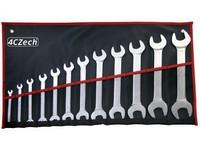 12dílná sada klíčů DIN 3110 ve vinylovém pouzdře (6x7 - 30x32mm)