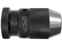 Sklíčidlo vrtačkové rychloupínací kovové STROJNÍ 0,5-6mm s kuželem B10, házivost do 0,12mm