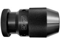 Sklíčidlo vrtačkové rychloupínací kovové STROJNÍ 1-10mm s kuželem B12, házivost do 0,12mm