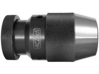 Sklíčidlo vrtačkové rychloupínací kovové STROJNÍ 1,5-13mm s kuželem B16, házivost do 0,12mm