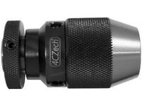 Sklíčidlo vrtačkové rychloupínací kovové STROJNÍ 0-8mm s kuželem B12, házivost do 0,12mm